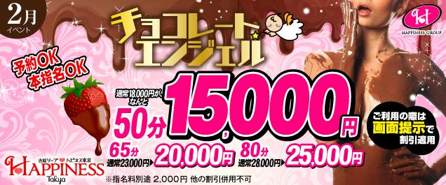 【総額から3千円割引】チョコレートエンジェル