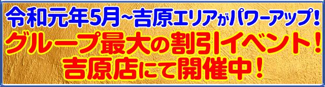 令和元年5月 吉原エリアがパワーアップしました!